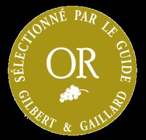 Logo de la médaille d'Or de Gilbert & Gaillard