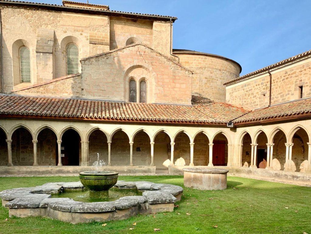 Photo de l'abbaye de Saint-Hilaire, Aude