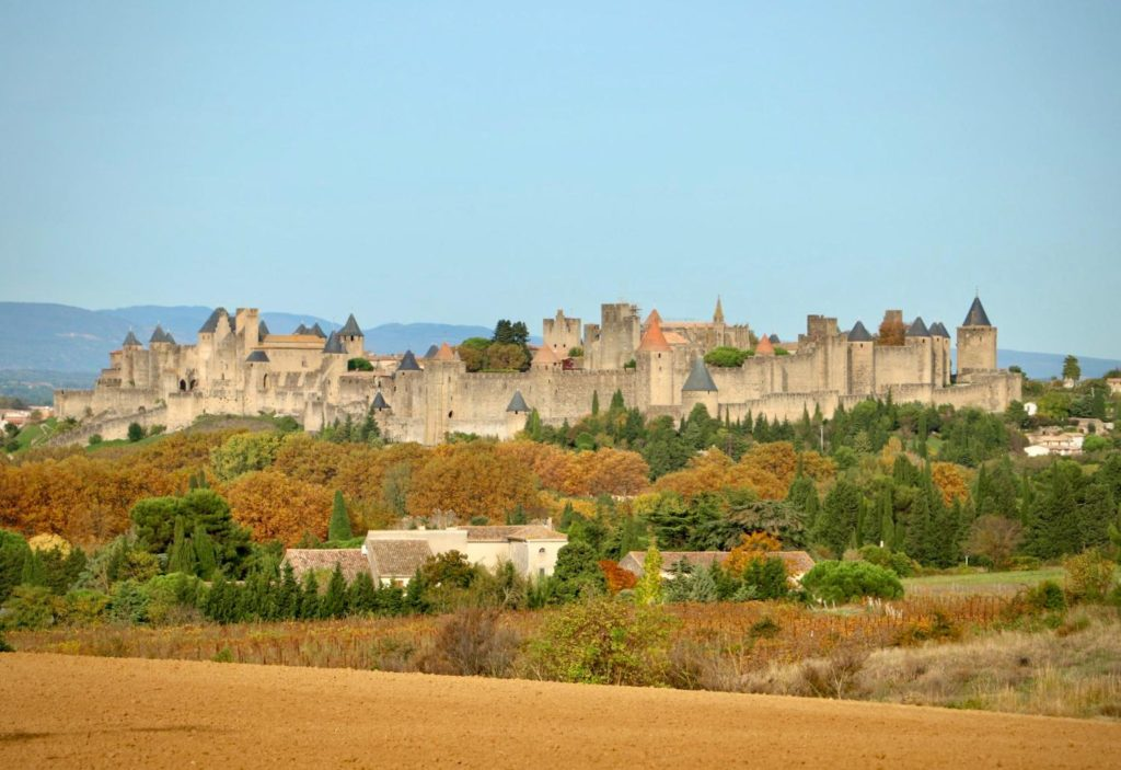 Photo de la cité de Carcassonne, Aude
