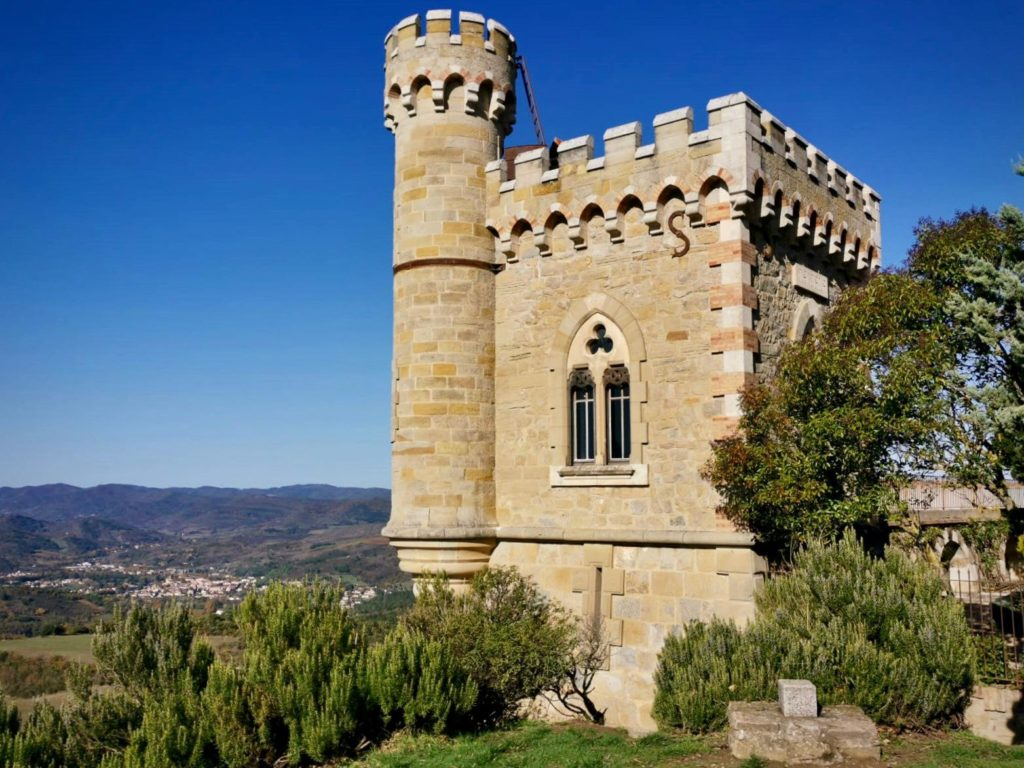 Photo de la Tour Magdala à Rennes le Château, Aude